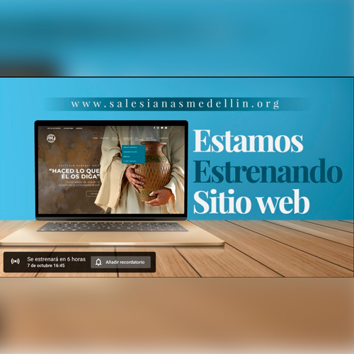 sitio web Salesianas Medellín